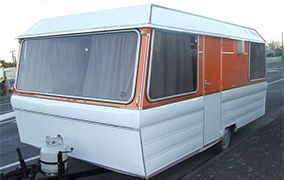 One of The Lotts caravans