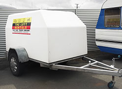 One of the Lotts trailers